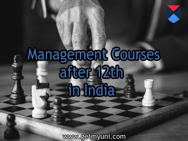 Management Courses after 12th