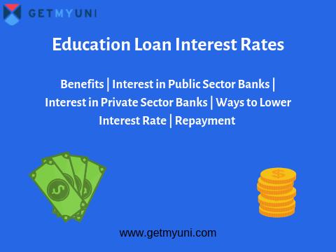 Education Loan Interest Rates