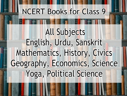 NCERT books for class 9 - All subjects