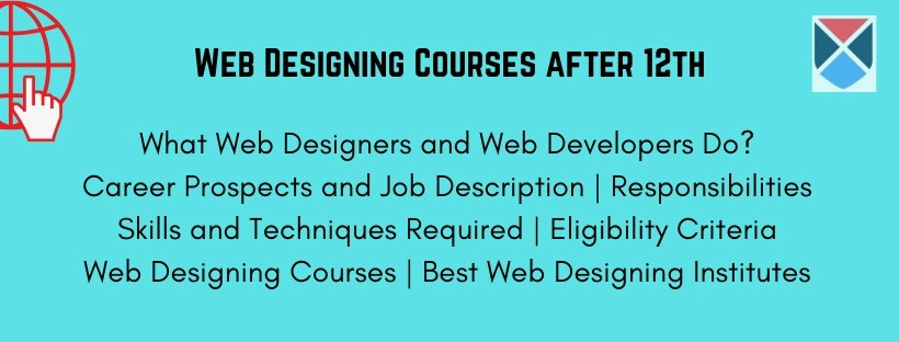 web designing courses after 12th