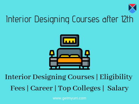 Interior Designing Courses After 12th Colleges Details Courses