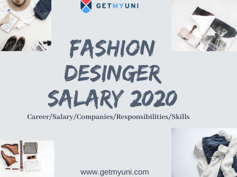Fashion Designer Salary 2020