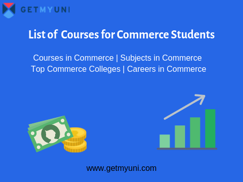 List of Courses for Commerce Students