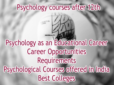 Psychology Courses after 12th in India