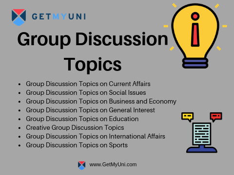 Group Discussion Topics for College Students with Tips