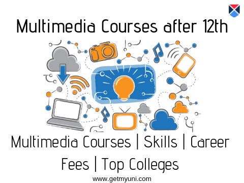 Multimedia Courses after 12th