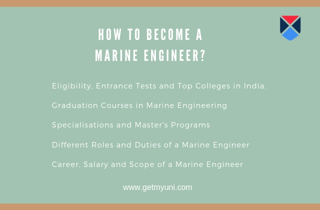 Career in Marine Engineering - Eligibility, Courses