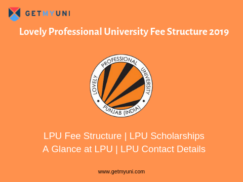 Lovely Professional University Fee Structure