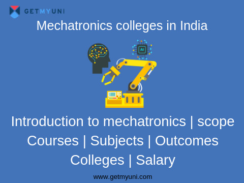mechatronics colleges in India