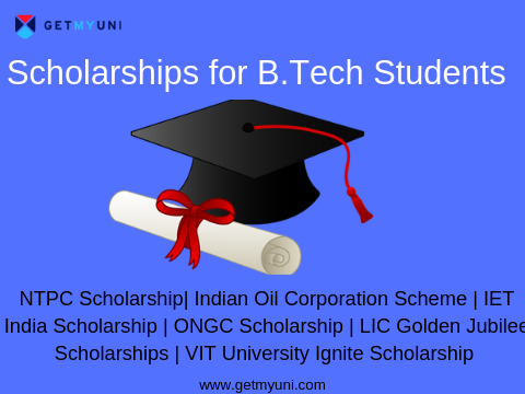 Top 10 Scholarships for B.Tech Students In India