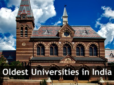 List of Oldest Universities in India