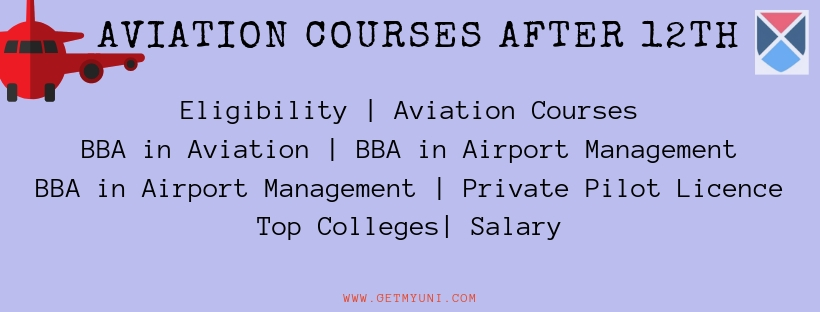 Aviation courses after 12th