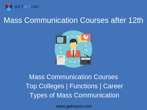 Mass Communication Courses after 12th