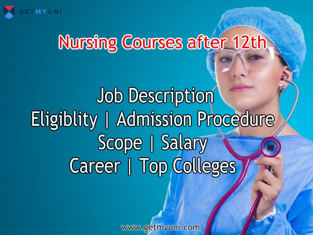 Nursing Course after 12th