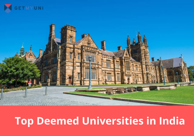 Top Deemed Universities in India