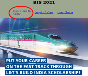L&T Build India Scholarship 2021 - Click Here to Apply