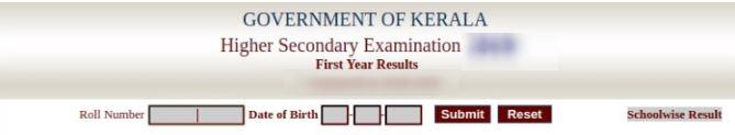 kerala dhse plus one result 2020