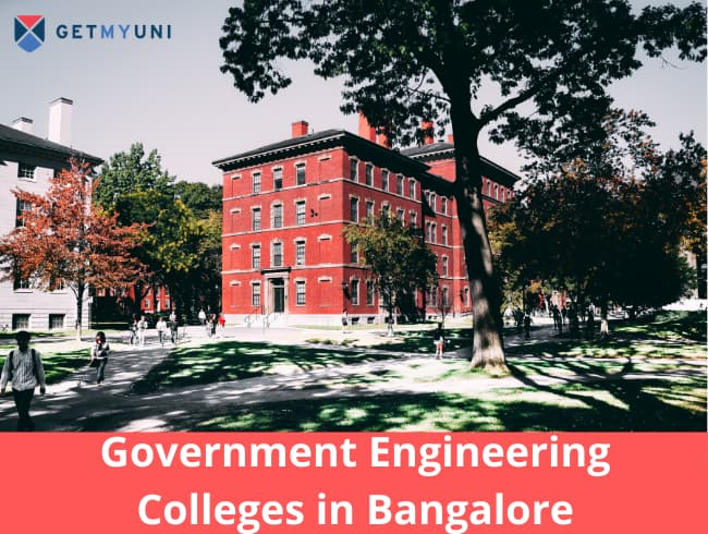 Government Engineering Colleges in Bangalore