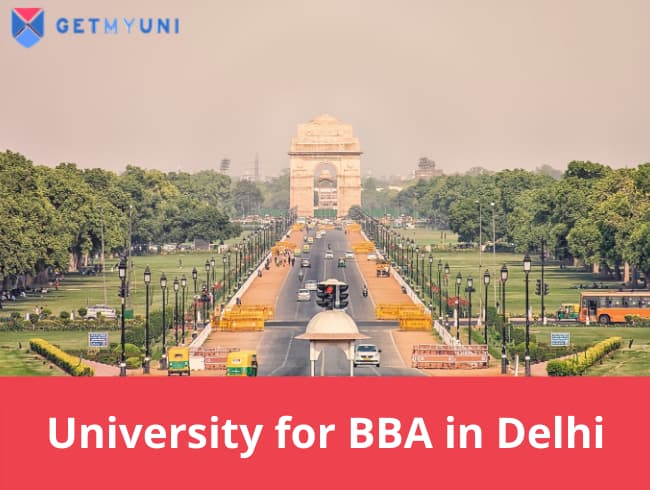 University for BBA in Delhi