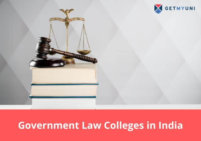 Government Law Colleges in India