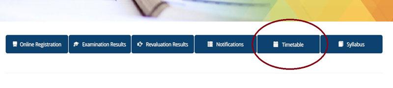 Pareeksha bhavan webs portal to download student exam time table
