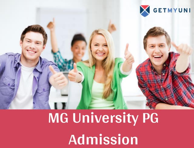 MG University PG Admission