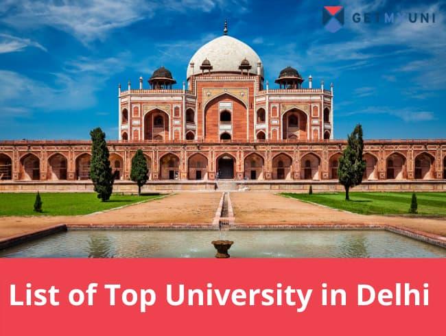 Top University in Delhi