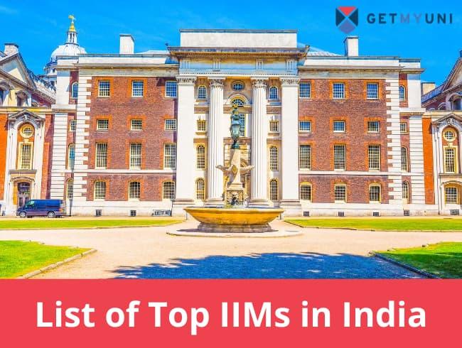 List of Top IIM in India 2020