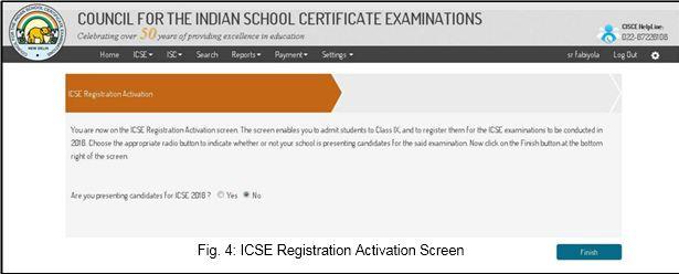 ICSE 10th Class Registration 2019