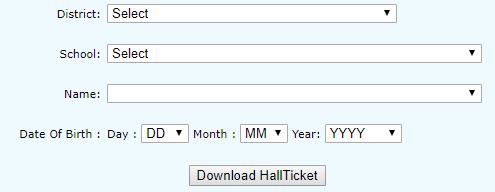 TS 10th Hall Ticket 2021