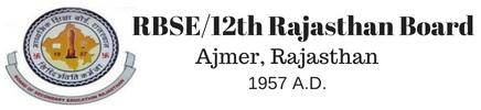 RBSE/12th Rajasthan Board 2019