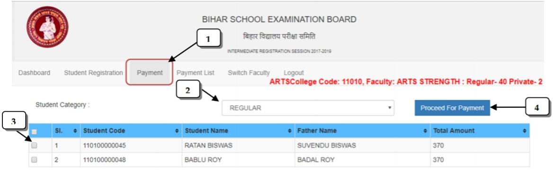 Bihar Board Registration 2020 . 10
