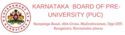 Karnataka Board of pre-university education/puc 2019