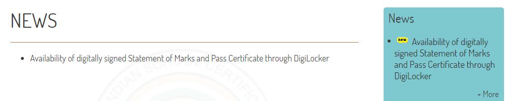 ICSE Class 10 Admit Card 2019