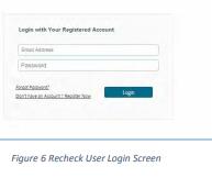 Rechecking registration 2019 ISC