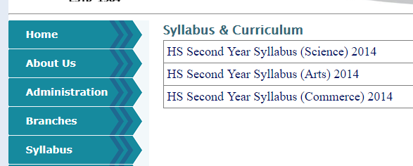 AHSEC HS Syllabus 2019