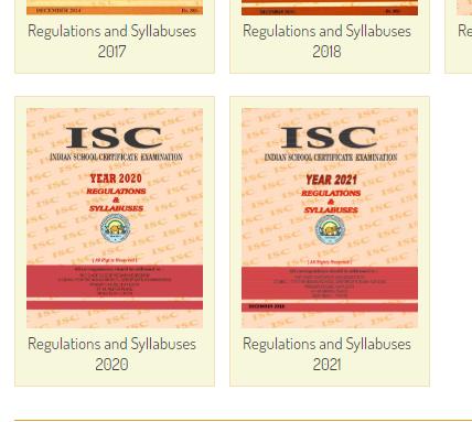 ISC 12th Syllabus 2020 .h