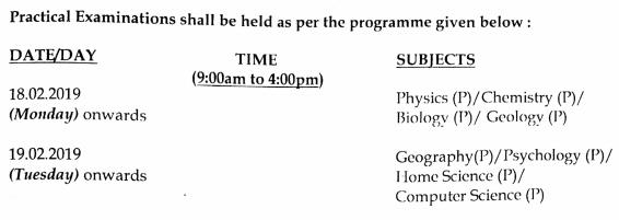 MBSE 2019 Timetable HSSLC