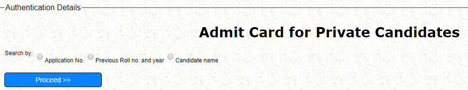 CBSE 10th Admit card 2019