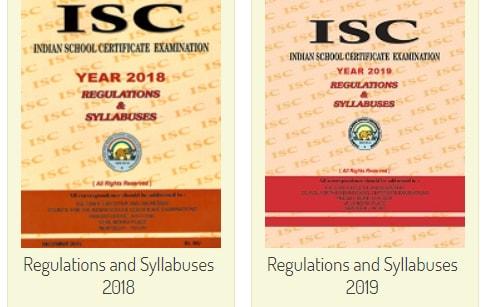 CISCE 12th Syllabus 2019