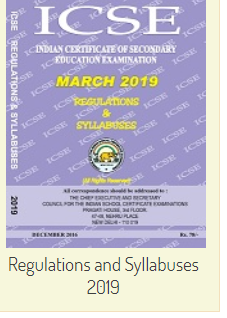 ICSE Regulations & Syllabuses 2019