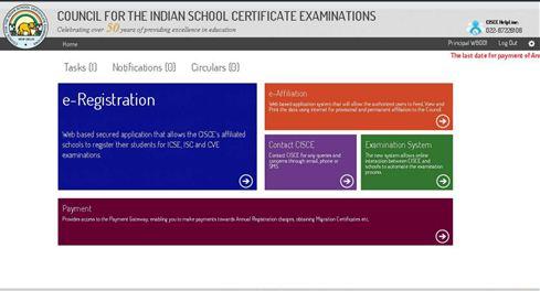 ICSE Registration 2019