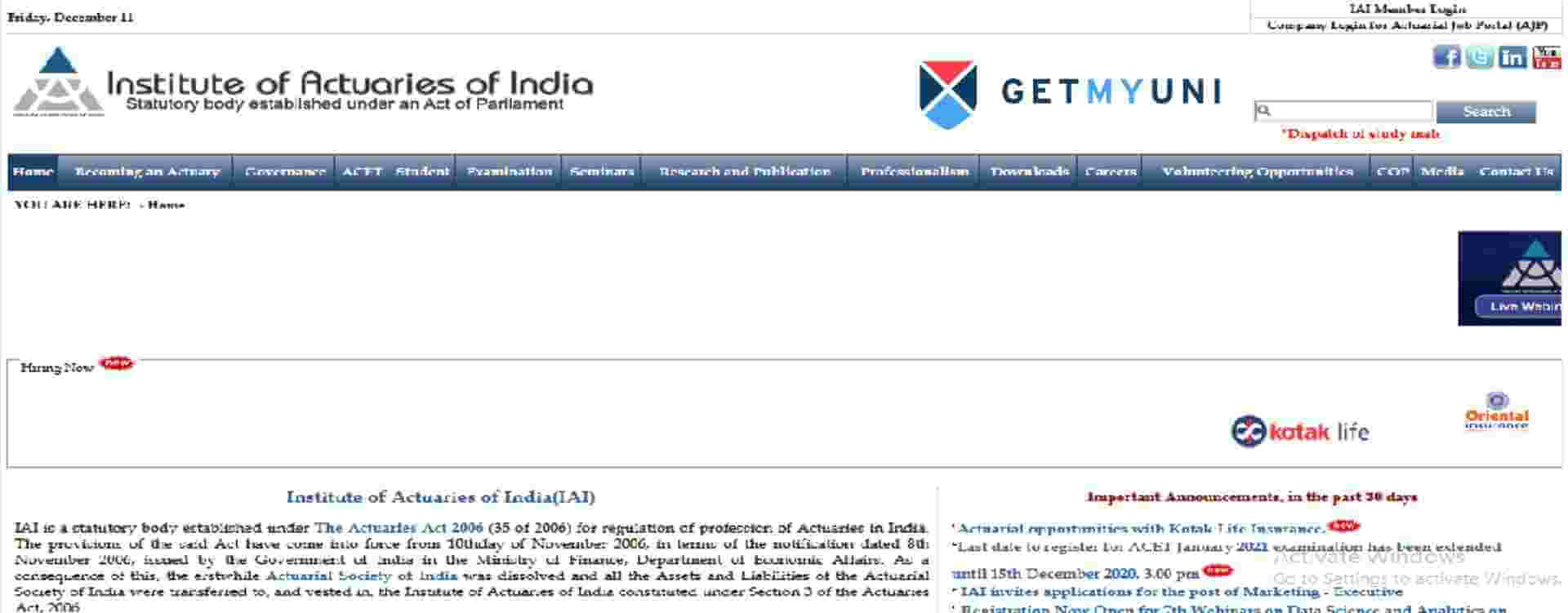 ACET Home Page