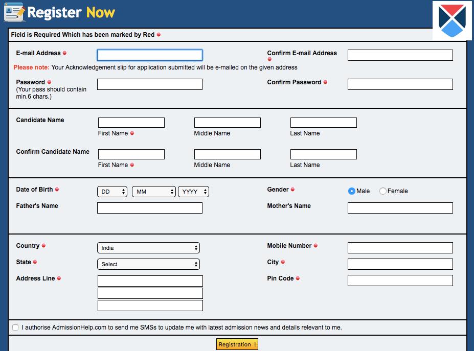 AILET Application Process