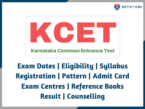 KCET -  Dates, Registration, Result, Admit Card details