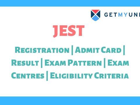 JEST Exam - Registration, Results, Admit Card