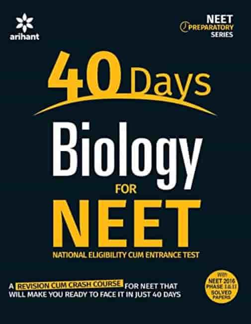 40 Days Biology for NEET by Arihant