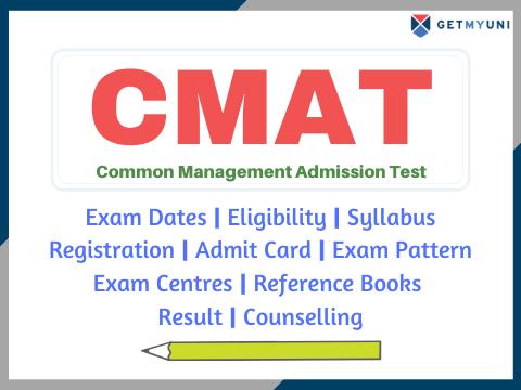 CMAT - Dates, Registration, Admit Card, Result