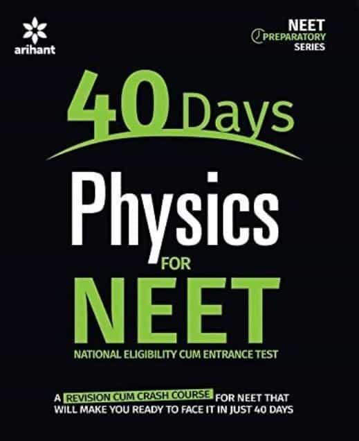40 Days Physics for NEET by Arihant