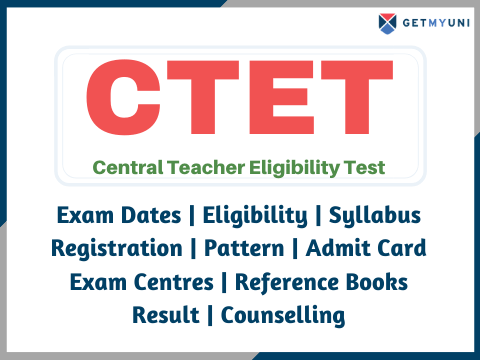 CTET - Registration, Results, Admit Card, Counselling